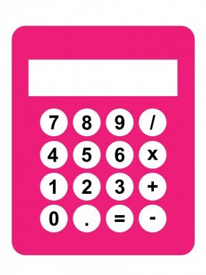 calculator-pink-clipart